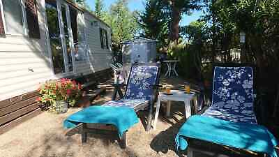 Two Bedroom Mobile Home, Sited on Le Dattier, Frejus, South of France.