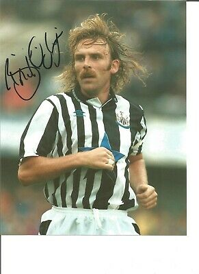 Football Autograph Brian Kilcline Newcastle Signed 10x8 inch Photograph JM198