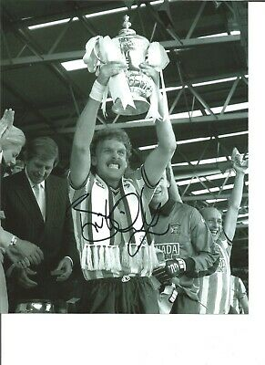Football Autograph Brian Kilcline Coventry City Signed 10x8 in Photograph JM201