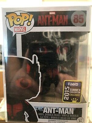 Funko Pop! Marvel Ant-Man #85 2015 Funko Summer Convention Exclusive In Protect