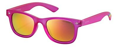 Occhiali da sole Sunglasses Polaroid PLD 8009 N IMS ROSA KIDS 100% POLARIZZATO