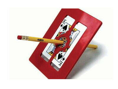Magic Makers Magic Frame Playing Card Pencil Pen Penetration Trick