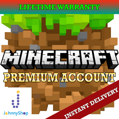 ⚡Minecraft Premium Account (Java Edition)⚡ Instant Delivery + Lifetime Warranty