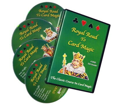 Royal Road To Card Magic Rudy Hunter 4 DVD Set