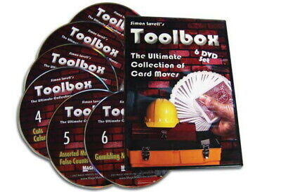 Simon Lovell's Toolbox 6 DVD Set Ultimate Collection Card Moves