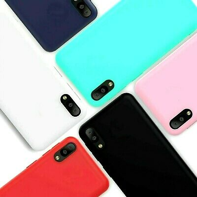 Cover COLORATA per Samsung Galaxy A10 Custodia in Silicone TPU + VETRO TEMPERATO