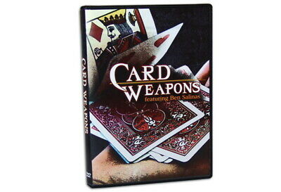 Card Weapons Magic Trick DVD Ben Salinas