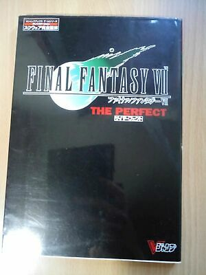 BOOK Final Fantasy VII (7) - The Perfect SQUARESOFT VIDEO GAME STRATEGY GUIDE