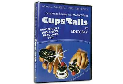 Complete Course Magic with Cups & Balls, 2 DVD Set, DVD Only, No Cups