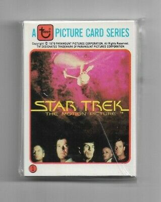 1979 Star Trek The Motion Picture Complete Set...By Rainbo Bread...