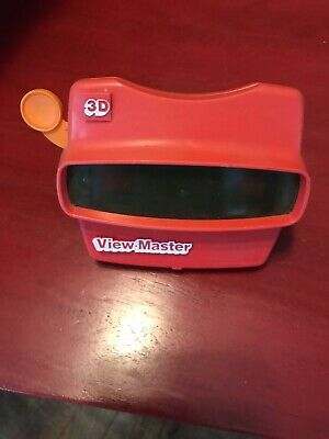 Vintage Red Viewmaster 3D View-Master Viewer Toy 1998 Fisher Price