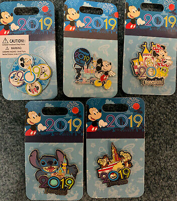 Disney pins on cards Various pins all Authentic 2019 Pins In Canada