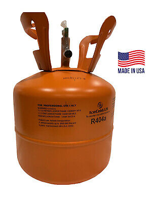 (6) R404a, R404, R-404, 404a Refrigerant *7.5lb* Factory Sealed and Full