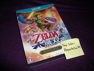 NINTENDO WII U ///Zelda Musou Hyrule Warriors\ JAPAN PREMIUM ED NEW SEALED