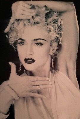 "MADONNA VOGUE SINGER ICON DANCER ACTRESS 7x5"" PICTURE PRINT WALL ART"