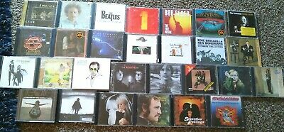 Lot Of 32 Cd Classic Rock Beatles Fleetwood Mac Heart Neil Young Doobie Brothers