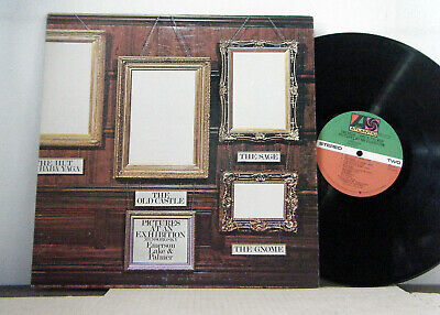 EMERSON LAKE AND PALMER  LP Pictures at an exhibition 1971 Atlantic elp