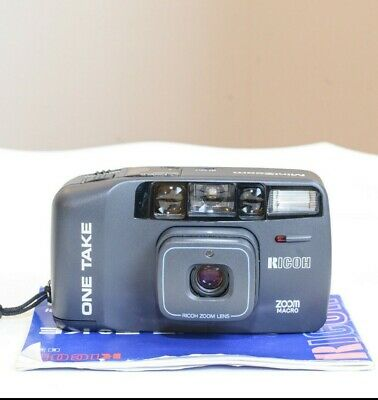 Ricoh 35mm Camera, One Take Mini Zoom AF in Excellent Condition, Case TESTED