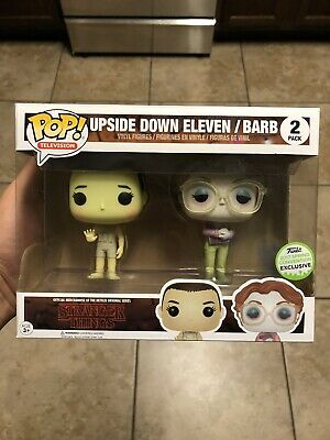 Funko Pop! Stranger Things Upside Down Eleven Barb 2 Pack ECCC 2017 Shared New