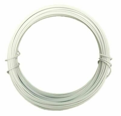 10M x 2mm White Hobby Wire Everhang 72779