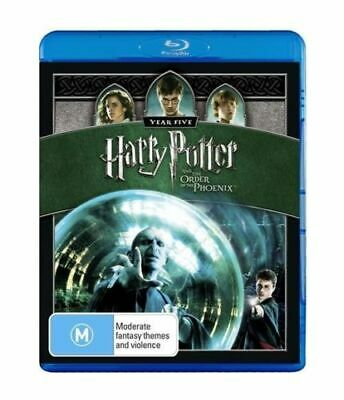 HARRY POTTER AND THE ORDER OF THE PHOENIX New Blu-Ray DANIEL RADCLIFFE ***