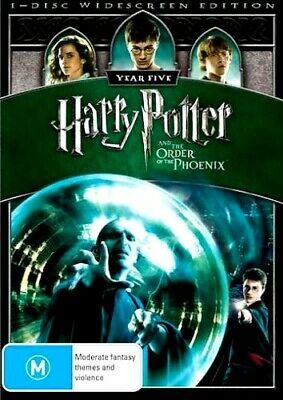 HARRY POTTER AND THE ORDER OF THE PHOENIX New Dvd DANIEL RADCLIFFE ***