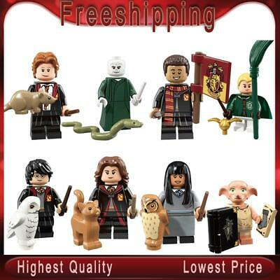 Harry series Potter Dobby Moody Dumbledore Quirrell Voldemort building blocks