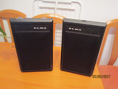 Altavoces Elmo GS 1.200 stereo y 800 GS stereo impecables