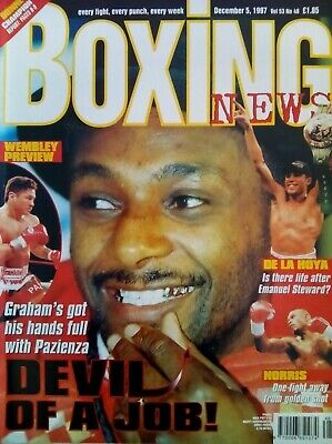 BOXING NEWS - 5 Dec 1998 - GRAHAM - EXCELLENT CONDITION