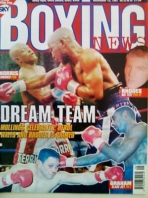 BOXING NEWS - 12 Dec 1998 - GRAHAM - EXCELLENT CONDITION