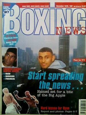 BOXING NEWS - 19/26 Dec 1998 - HAMED - EXCELLENT CONDITION