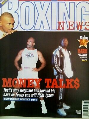 BOXING NEWS - 9 Jan 1998 - HOLYFIELD - EXCELLENT CONDITION