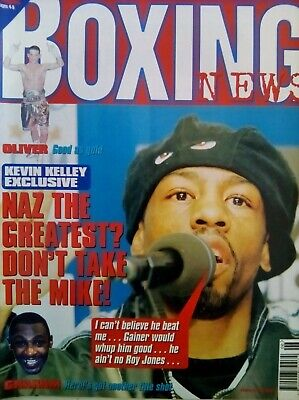BOXING NEWS - 6 Feb 1998 - KELLEY - EXCELLENT CONDITION