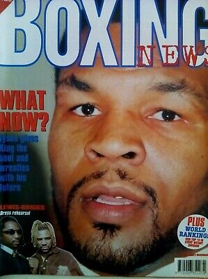BOXING NEWS - 13 Feb 1998 - TYSON - EXCELLENT CONDITION