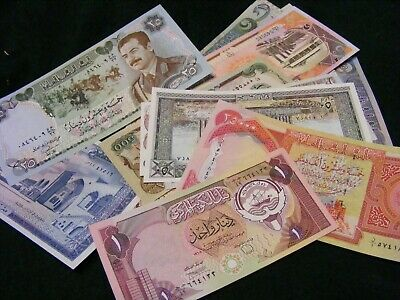 Lot of 20 diff...uncirculated ISLAMIC Banknotes,various countries..