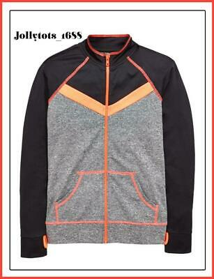 Quality V by Very Girls Zipped Tracksuit Sports Running Top Ages 7-14 Years