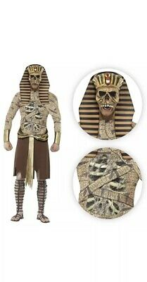 Smiffys Zombie Pharaoh Egyptian Halloween Fancy Dress Costume Large Adults