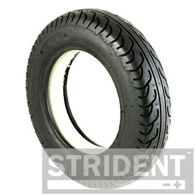 1 Of 3.00-8 Black Solid Electric Mobility Scooter Tyre 300 X 8