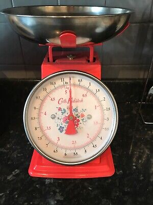 Cath Kidston Kitchen Weighing Scales, Clifton Rose. Perfect working condition. W
