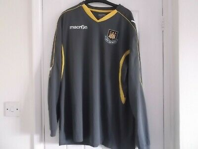 West Ham United Training Top Xl Size 48 Ins Macron Make