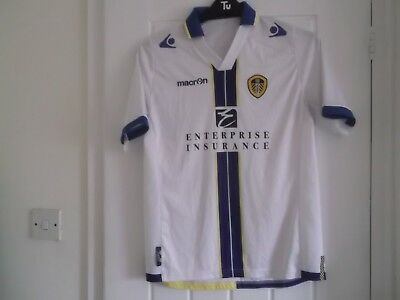 Leeds United Home Football Shirt 38 Ins Macron Make