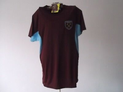 West Ham United Football Top Small Size 40 Ins West Ham Merchadise Bnwt