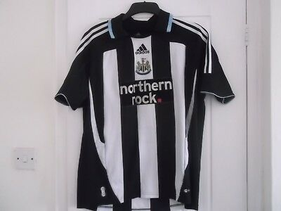 Newcastle United Home Shirt Large Size 44 Ins Adidas Make