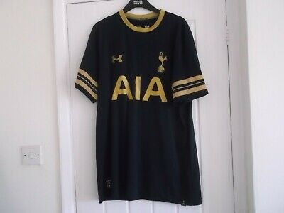 Tottenham Hotspur Away Football Shirt Xl Size 44 Ins Heatgear Make