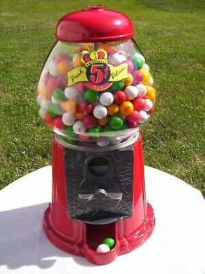 Vintage Gumball Peanut Jelly Belly Candy Machine Coin Op M&M Candy