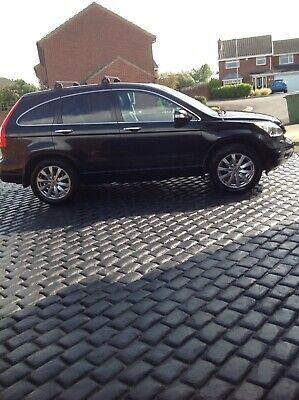 2012 Honda CRV Ex I DTEC diesel 2.2 black - leather trim (61,000 miles)