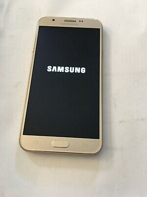 Samsung Galaxy J7 Prime SM-J727T1 Gold (MetroPCS) Smart Phone, Clean ESN, severe