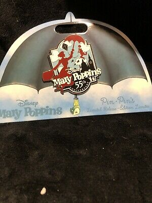 DISNEY PIN: Mary Poppins- 55th Anniversary Pin LIMITED RELEASE