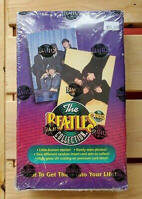 1993 THE BEATLES Trading Cards Sealed Box (36 Packs) Loaded W/ Inserts & Photos
