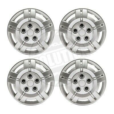 """15"""" To Fit Fiat Ducato Wheel Trims Deep Dish Hub Caps Domed Commercial"""